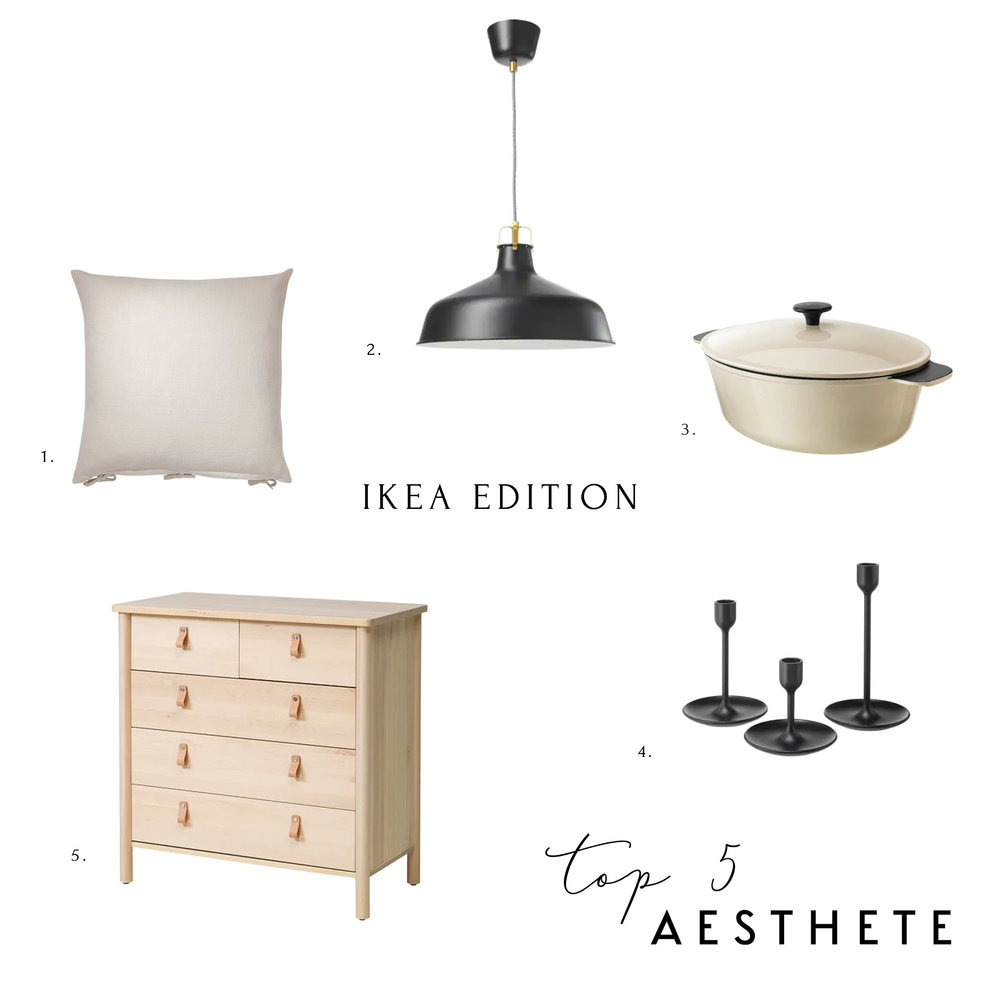 Aesthete Top 5 IKEA