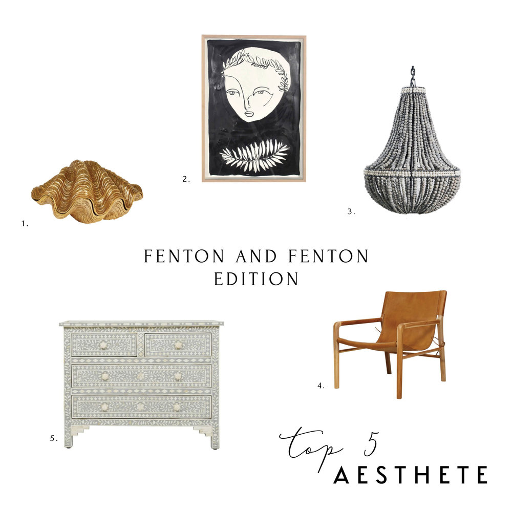 Aesthete Top 5 Fenton and Fenton