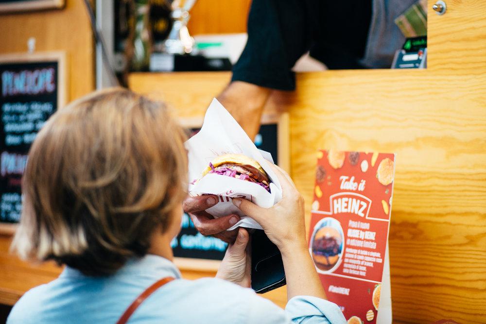 CABBALLO'S TRATORIA ON THE ROAD - Hamburger di cinghiale, spiedini,patate fritte.