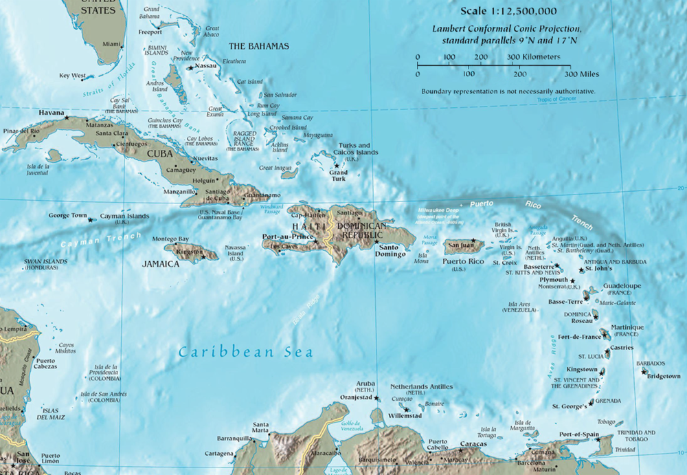 The Caribbean - Multi-Cultural Experience Close to Home