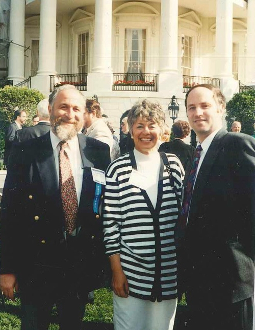 Rabbi Yonah Fuld, Ms. Audrey Schurgin, and Rabbi Joel Cohn