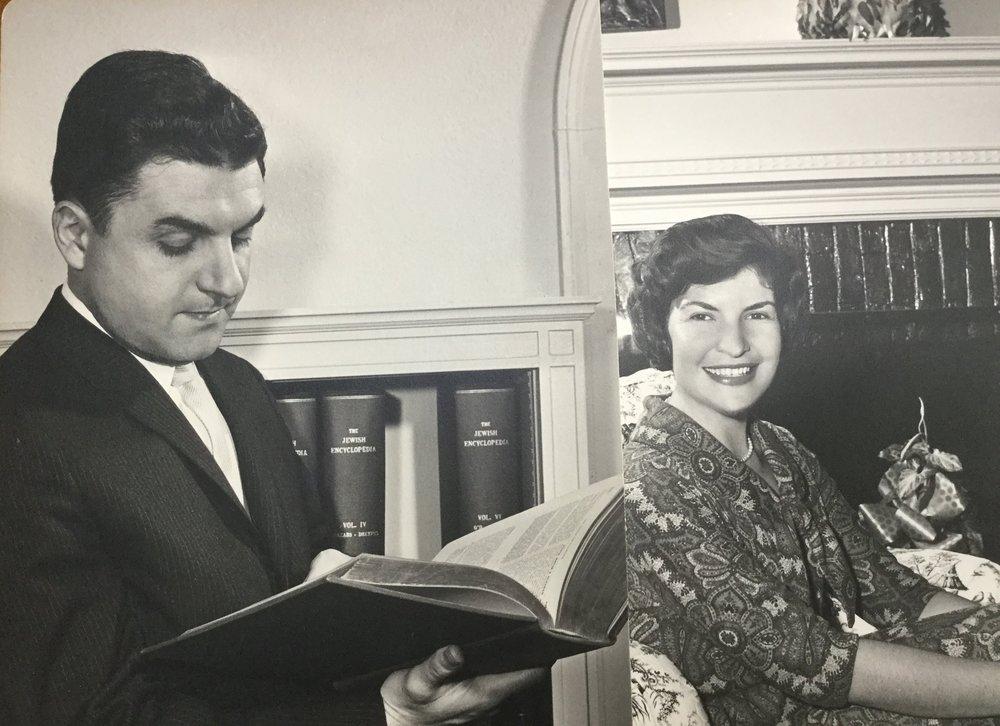 Rabbi Jack and Elissa Sable