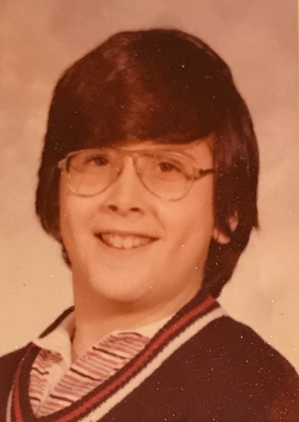 Steven Moskowitz AC '79 from his 8th Grade graduation photo!