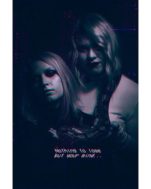 Dream job: 80s movie posters.  In frame: @amatteblackcanvas and Caitlin. ________________________________  #cyberpunkart #cyberpunk #depthobsessed #illgrammers #vaporwavevibes #cyberpunkaesthetic #fatalframes #vaporwaveart #vhs #vcr #artofvisuals #justgoshoot #agameoftones #vaporwaveaesthetics #expofilm #bleachmyfilm #photooftheday #photography #teamcanon #canonphotography #newretrowave #moodygrams #igtones #vaporwaveaesthetic #neverstopexploring #inspirationcultmag #vaporwave #gramslayers #theimaged #thecreative