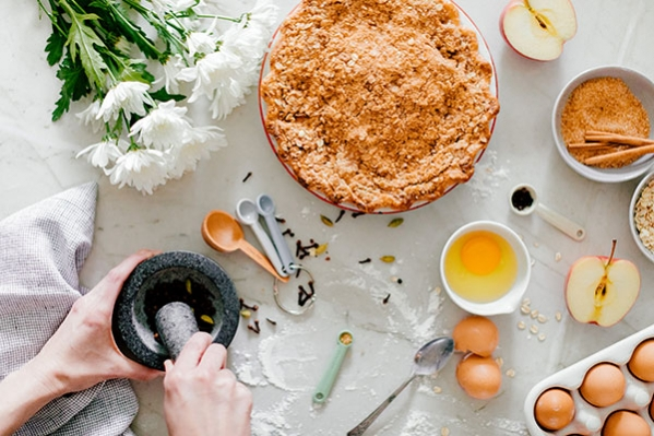 Every pie is hand made to ensure that extra flaky bite!  -