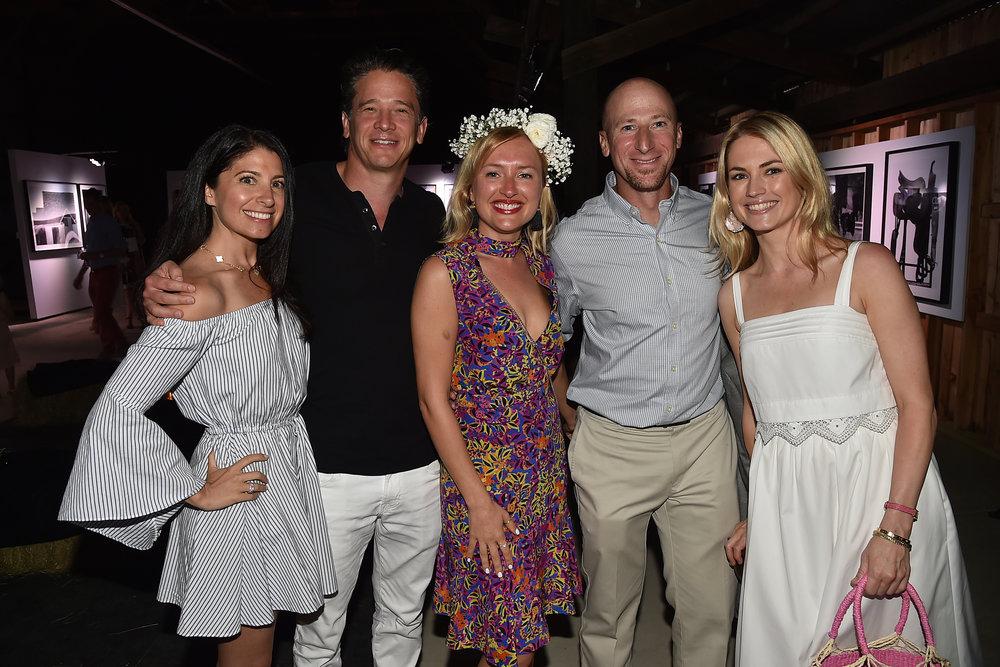 Lauren Ackerman, Ari Ackerman, Masha Kalinina, Dr. Andrew Stein & Amanda at f2f First Annual Fundraiser