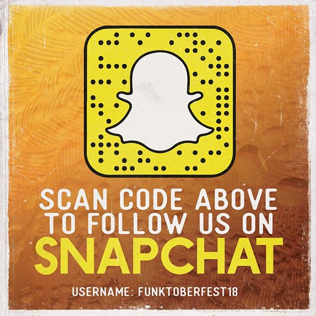 Remember to go follow us on Snapchat!  #Funktoberfest18 #FunkyTown #BringdaFUNK #FUNKNation #beer #craftbeer #beerme #beerguy #beergal #beertime #beertasting #beerfestival #festival #snapchat #followus