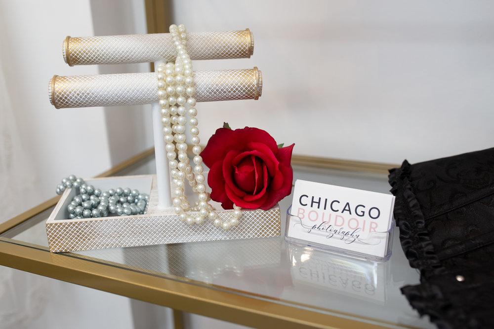 Chicago Boudoir Photography Studio