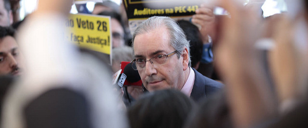 Former Brazilian President of the Chamber of Deputies, Eduardo Cunha. -  PMDB Nacional   (CC BY 2.0)