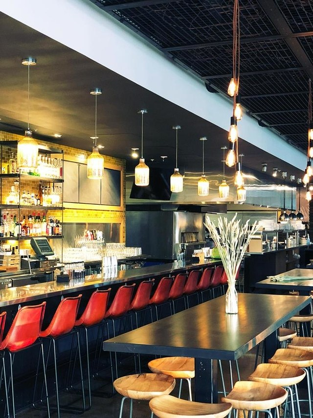 "Lark a Fare, Lawrence KS - ""The Most Beautifully Designed Bar in Each State in America""- Architectural Digest"