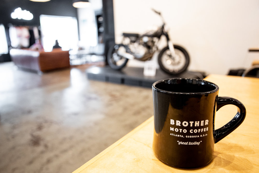 Coffee at Brother Moto.