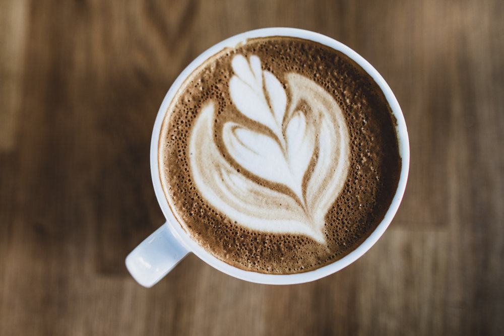 The cappuccino from Docent Coffee.