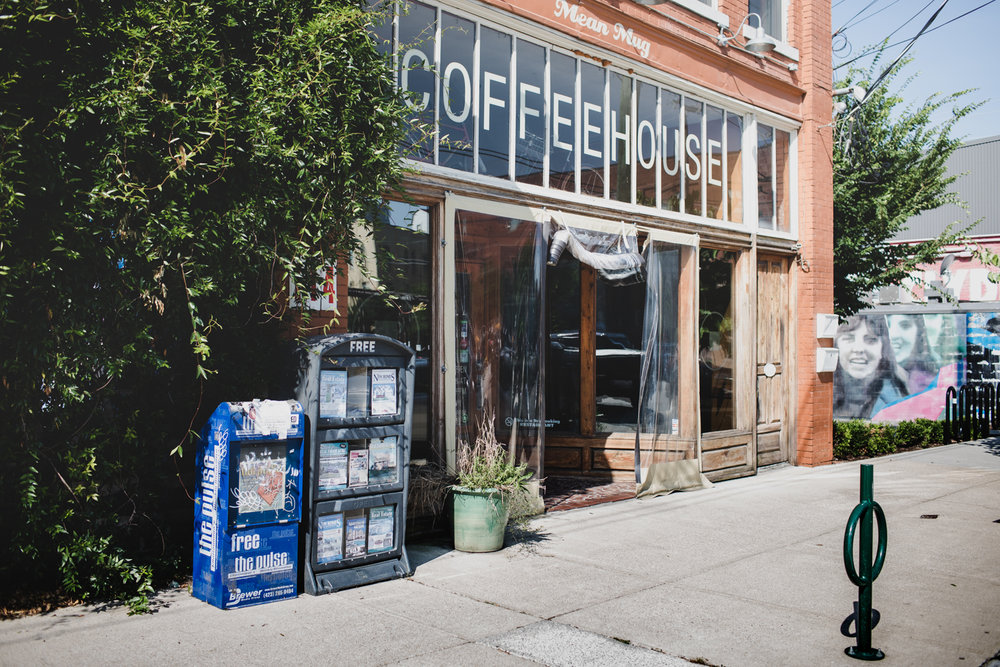Mean Mug Coffeehouse in Chattanooga, TN.