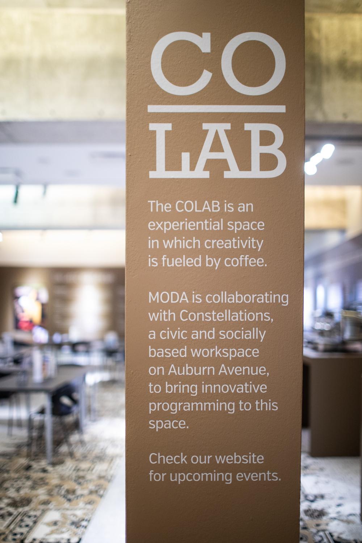 MODA's partnership with Co.Lab.