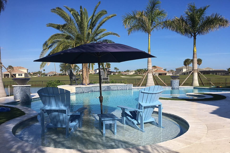 - Swimming Pool, Private ResidenceInsite Studio designs custom pools and water features for luxury homes. We incorporate unique hardscape and landscape forms to complement the lifestyle and needs of each and every client.
