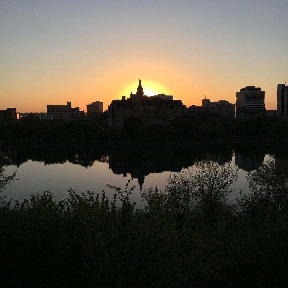 Bess. Sillhoutte Sunset