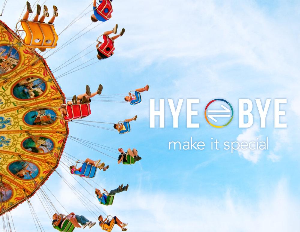HYEBYE   Brand IDENTITY