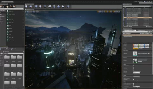 Unreal Engine - The ultimate tool for big 3D games.