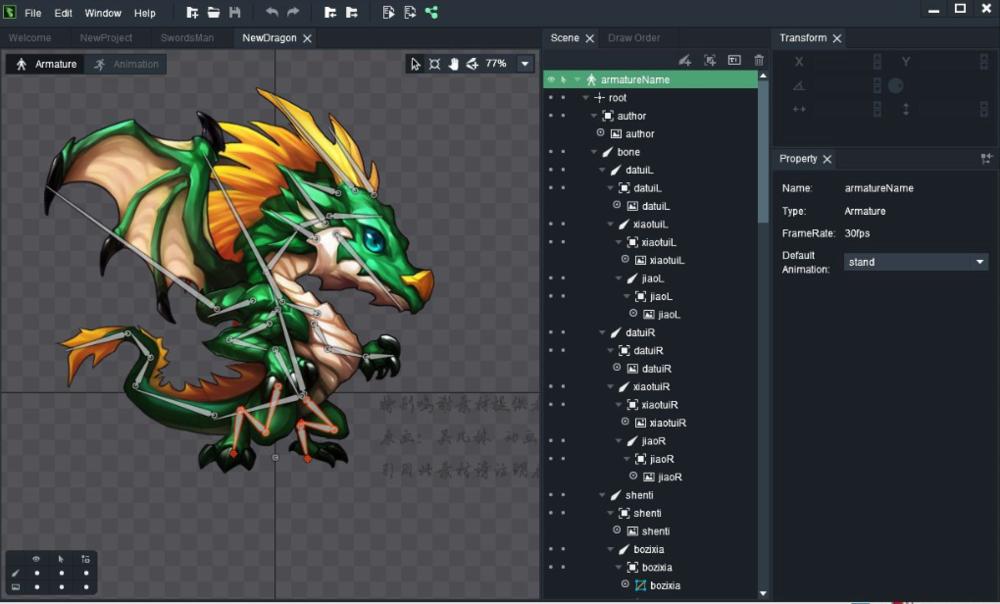 Dragonbones - 2D Skeletal Animation