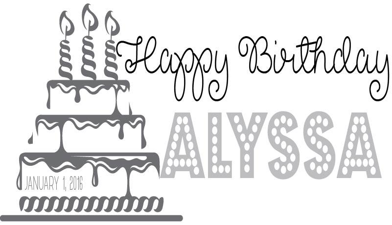 Birthday Logo #1
