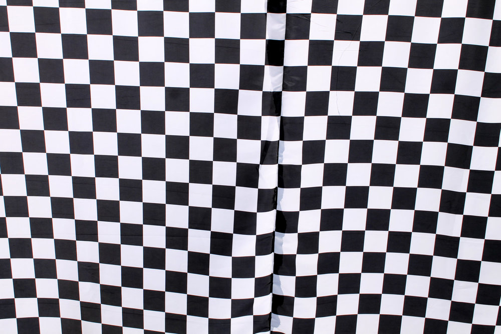 B&W Checkers (extra wide)