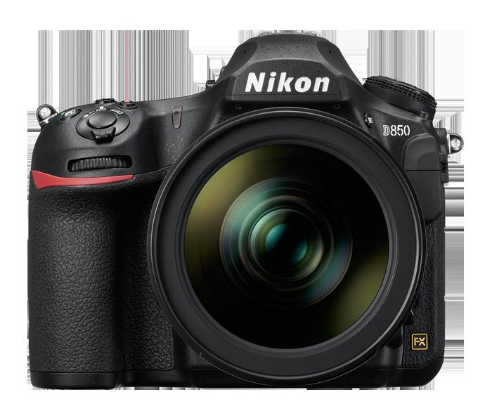 Nikon DSLR's -