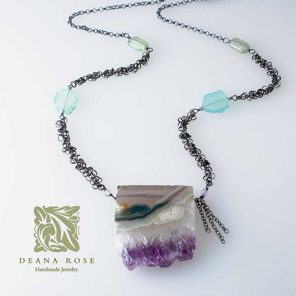 Deana Rose Jewelry   As long as I can remember, I've been fascinated by the symbiotic relationship between nature, art, and culture. Combining textures and colors became my passion, and it was while studying textiles and fashion in England that I discovered my love of beads—glass beads from Italy, silver beads from Bali, semi-precious stones from India.  From the beginning, I've drawn inspiration from the extraordinary and the everyday to create jewelry that is elegant and simple, personal and timeless. I hope each piece brings light and joy to your world. – Deana Rose  Website:  http://www.deanarose.com