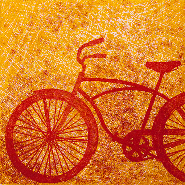 Judy Zeddies Printmaker   My work takes an uncommon look at everyday objects. Whimsy and nostalgia mix with shape, color and texture to draw the viewer in to closely examine my work and the daily objects around them. The rhythm of repeated lines, overlapping patterns and colors fascinates me — Judy Zeddies   www.judyzeddies.com