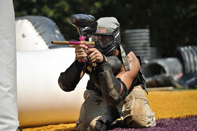 Paintball Safety and Strategy