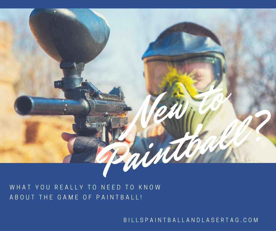 What to Know if You're New to Paintball