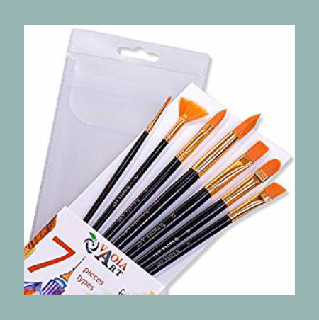 Brush Set with wide brushes