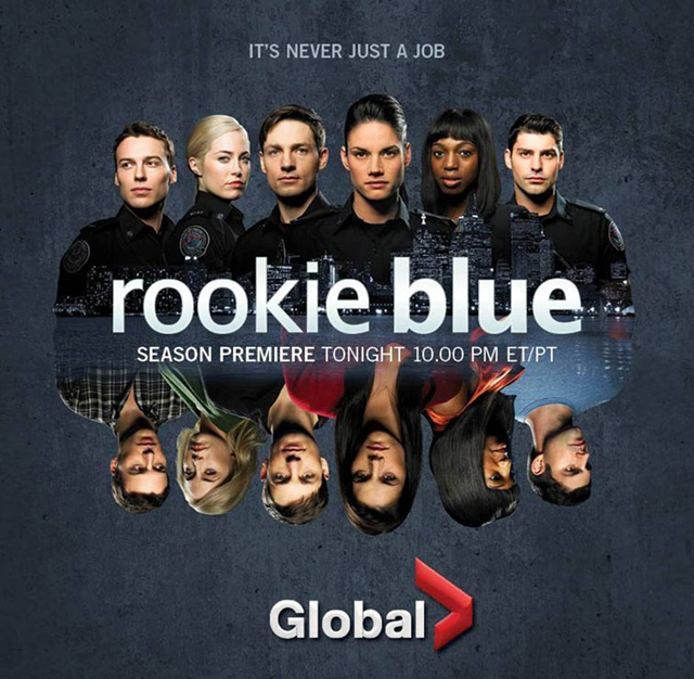 ROOKIE BLUE - WRITER + STORY EDITOR ON SEASON 5 & 6 OF THE ONE-HOUR DRAMA FOR ABC/GLOBAL