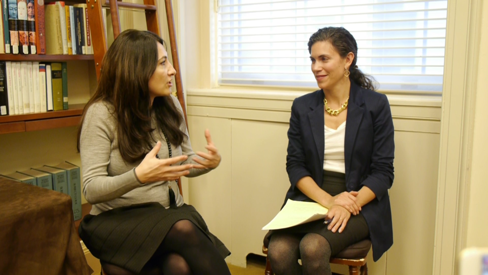 """""""We Do Not Ask. We Act."""" Facebook Live with Mariam Jalabi - Georgetown Institute for Women, Peace & Security and PassBlue.com, November 2018"""