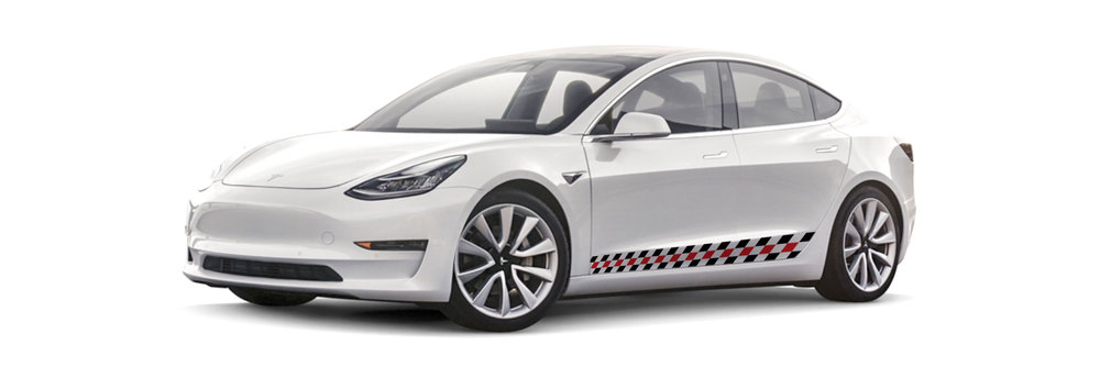 Cooper Coach All Electric Ride Tesla 3
