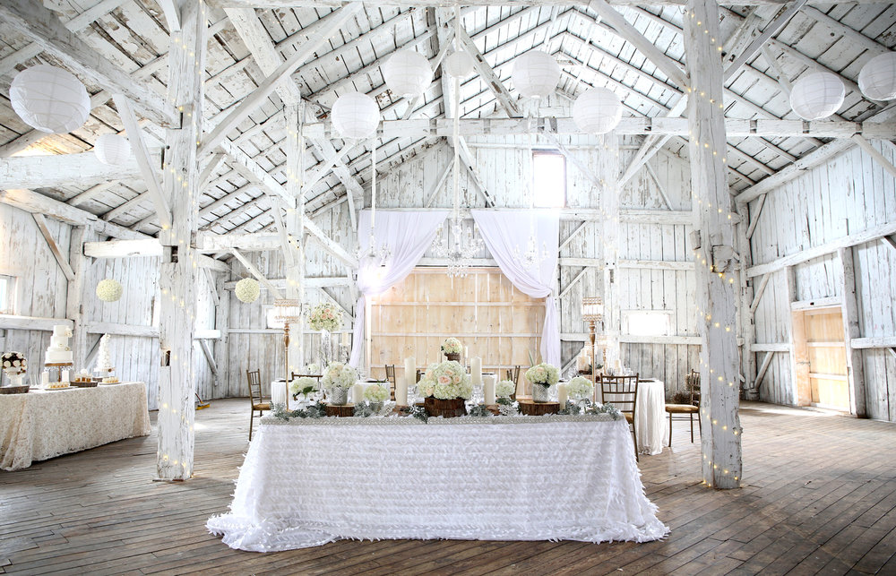 Est. 2018 - This Brand new Venue is a fabuslous desitination for your dream wedding. It has an abundance of beautiful settings for enchanting, rustic photographs. With it's high ceilings and clean canvas you can let your imagination run wild with this stuff 4300 sqft historic barn. Rainbow Valley Wedding Barn - Caledon, ON