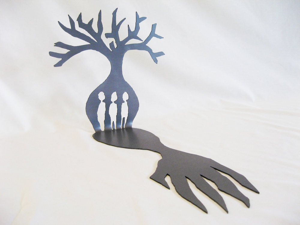 Hand of Truth  (2012). Mild Steel. 45cm x 25cm x 25 cm. Edition of 5.