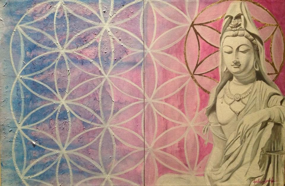Kuan Yin Flower of Life