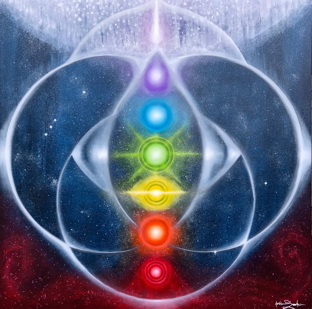 Cosmic Chakra Alignment
