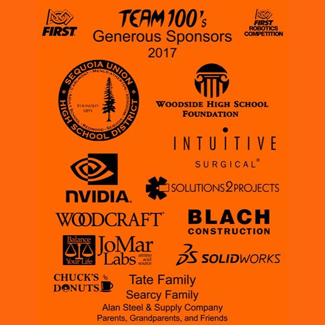 Thank you to our 2017 sponsors.