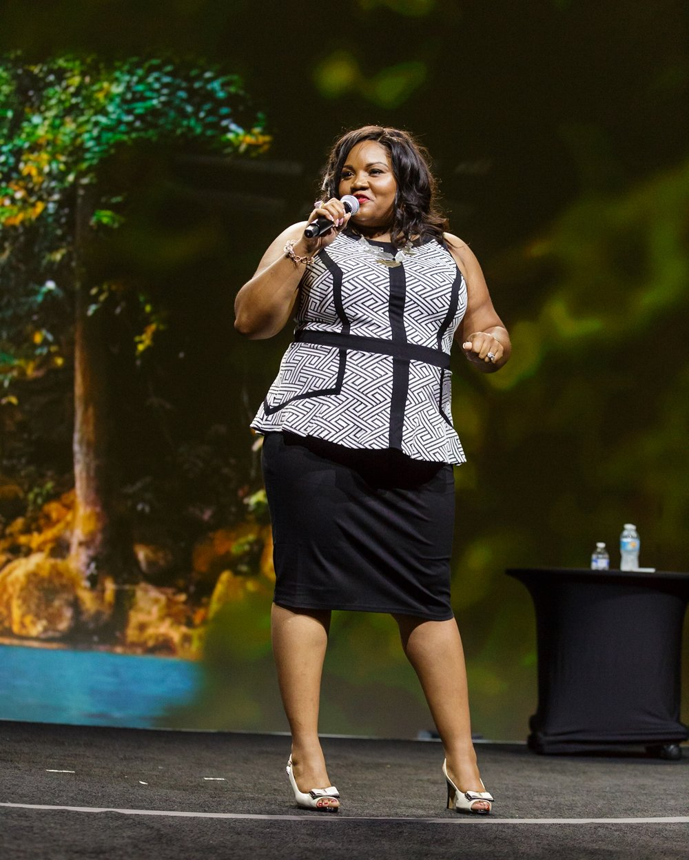 Amelia Mimi Brown motivational speaker