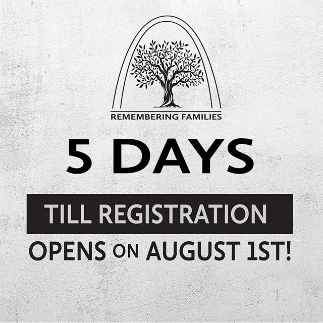 Registration will OPEN in FIVE days!! Don't forget to sign up to our newsletter to get updates.
