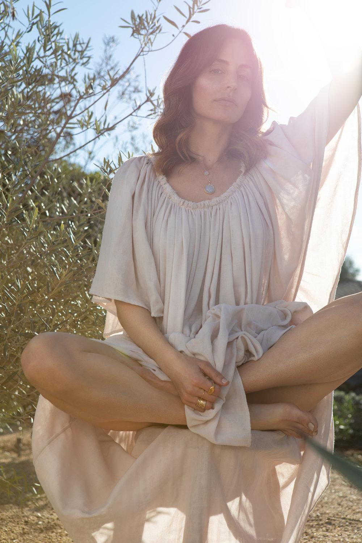 Divine Feminine Sage Dress