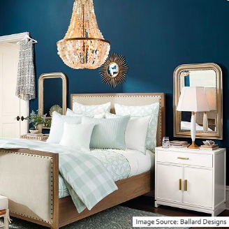 """At the end of a long day, my master bedroom """"retreat"""" is..."""
