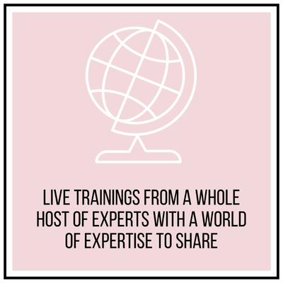 Monthly Live Trainings