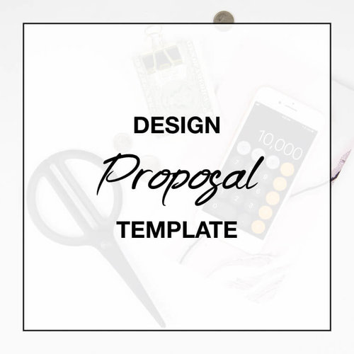 Design Proposal Template Pages For Mac The Design Influence