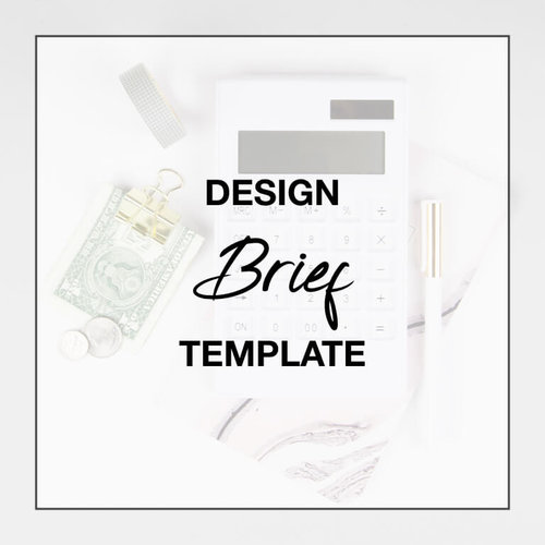 Design Brief Template Pages For Mac The Design Influence Home