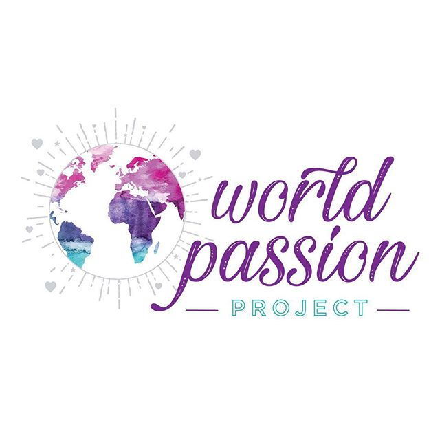 We are off to change the world! Join us💜💜💜 . . . . . #worldpassionproject