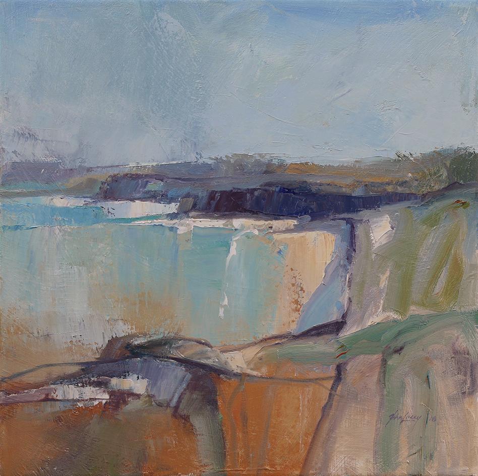 Pennington Bay KI   50 x 50cms   oil on canvas