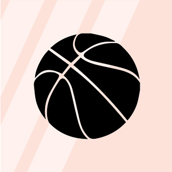 Basketball Guide, Glossary & FAQ - Basketball is made up of four quarters lasting 12 minutes each. Five players on each team are on the court at the same time. The point of the game is to shoot a basketball in a hoop to get the most baskets which = the most points. A basket counts as either two or three points, depending on how far the shooter was from the basket when she took the shot ... read more here.