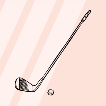 Golf Guide, Glossary & FAQ - A full round of golf is played on 18 holes at a golf course. Holes generally range from 100 - 500 yards. Unlike other sports, the goal is to have the LEAST amount of strokes at the end of the game - meaning take the least amount of drives, pitches, putts, etc. to get the ball in the hole...read more here